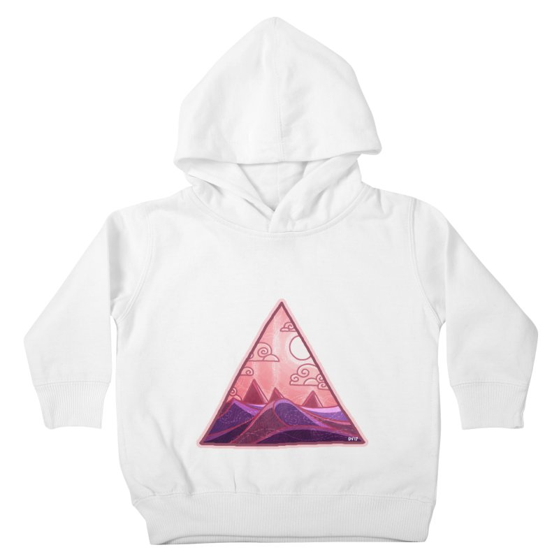 Pyramid Land Kids Toddler Pullover Hoody by DVerissimo's