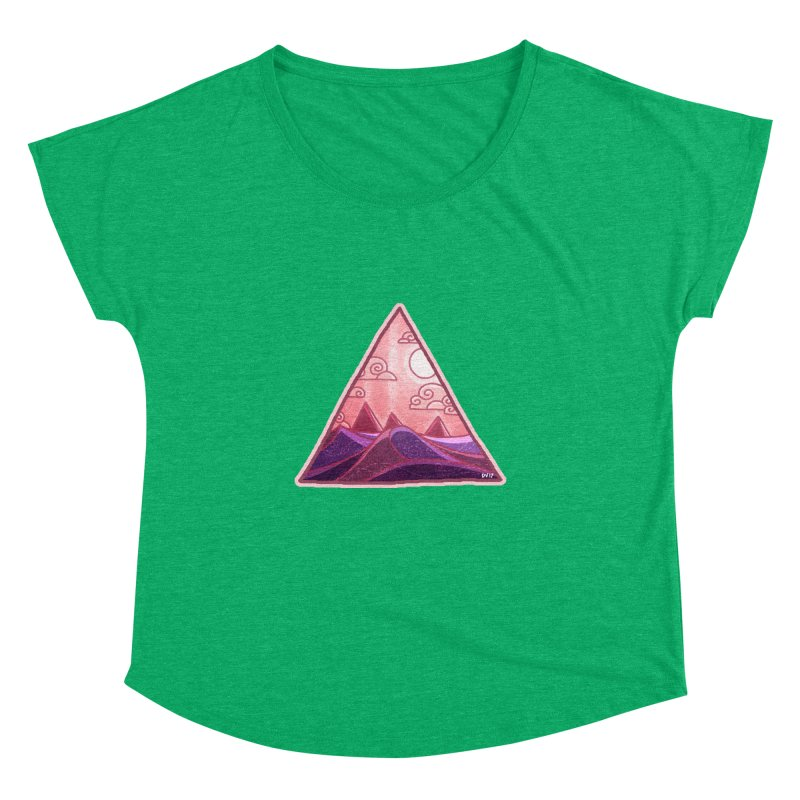 Pyramid Land Women's Dolman by DVerissimo's