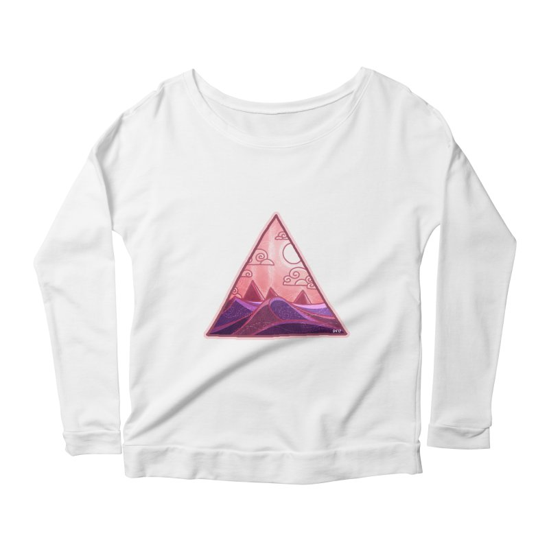Pyramid Land Women's Scoop Neck Longsleeve T-Shirt by DVerissimo's