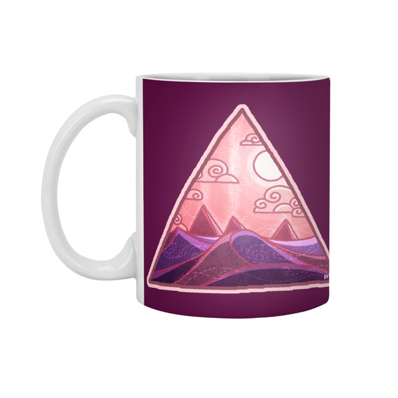Pyramid Land Accessories Standard Mug by DVerissimo's