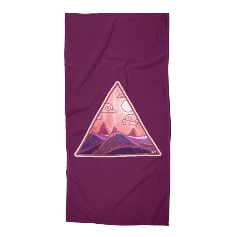 Pyramid Land Accessories Beach Towel by DVerissimo's