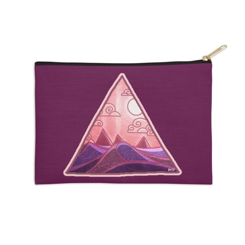 Pyramid Land Accessories Zip Pouch by DVerissimo's