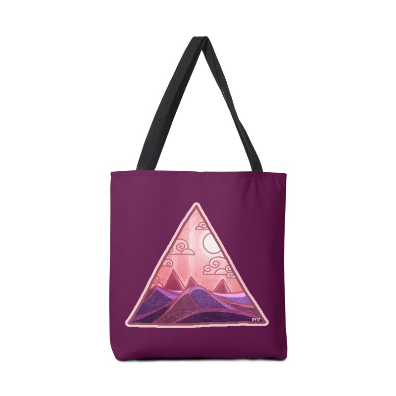 Pyramid Land Accessories Bag by DVerissimo's
