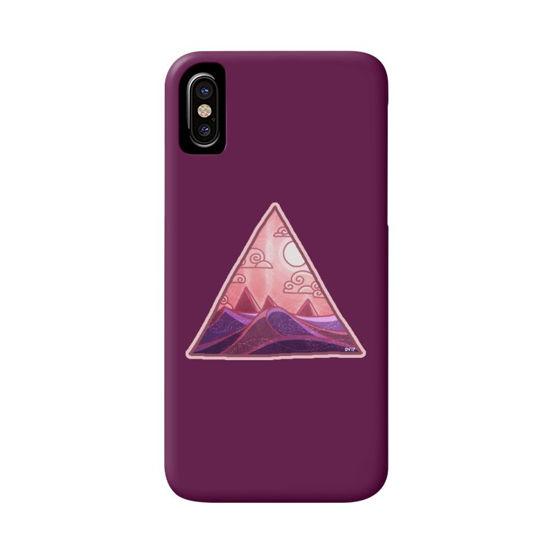 Pyramid Land Accessories Phone Case by DVerissimo's