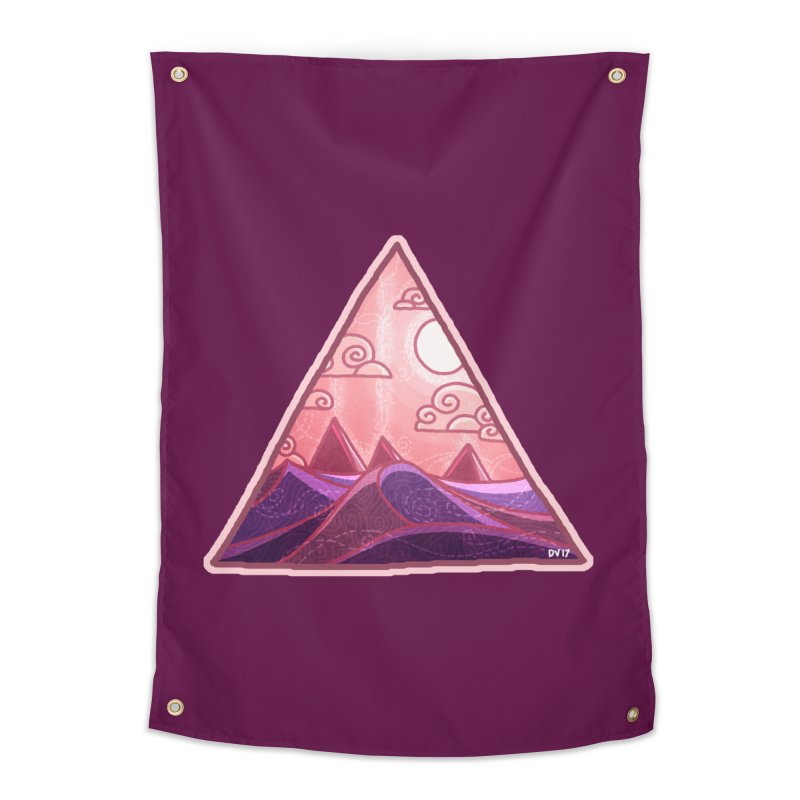 Pyramid Land Home Tapestry by DVerissimo's