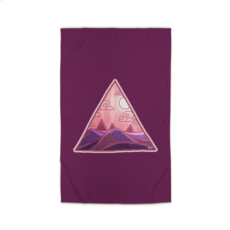 Pyramid Land Home Rug by DVerissimo's