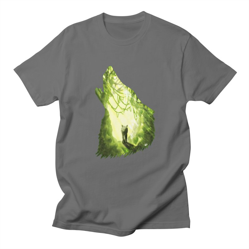Wolf's Forest Men's T-Shirt by DVerissimo's