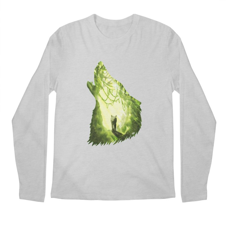 Wolf's Forest Men's Longsleeve T-Shirt by DVerissimo's