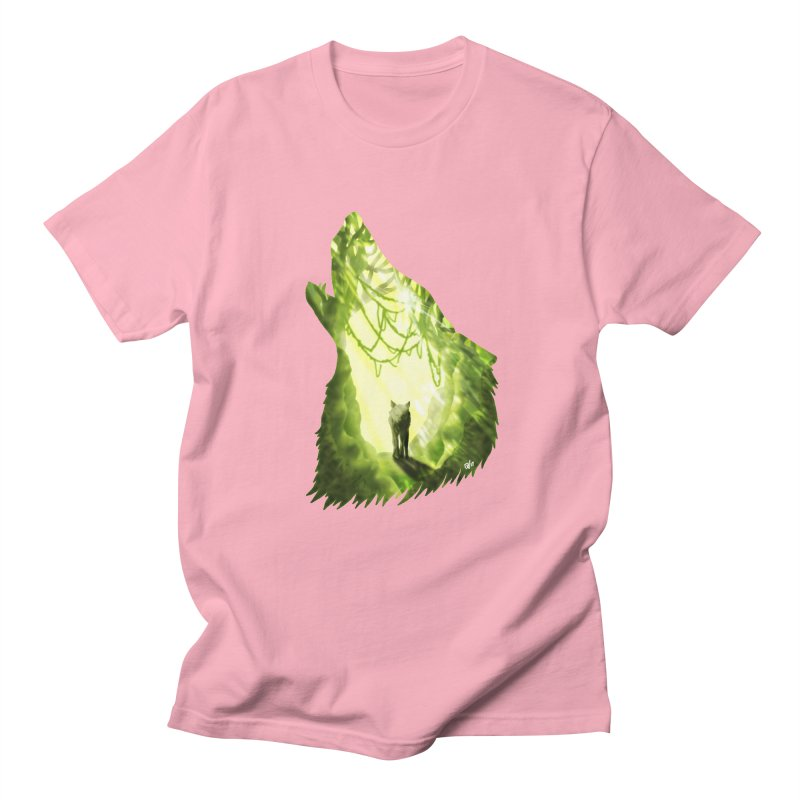 Wolf's Forest Women's Regular Unisex T-Shirt by DVerissimo's