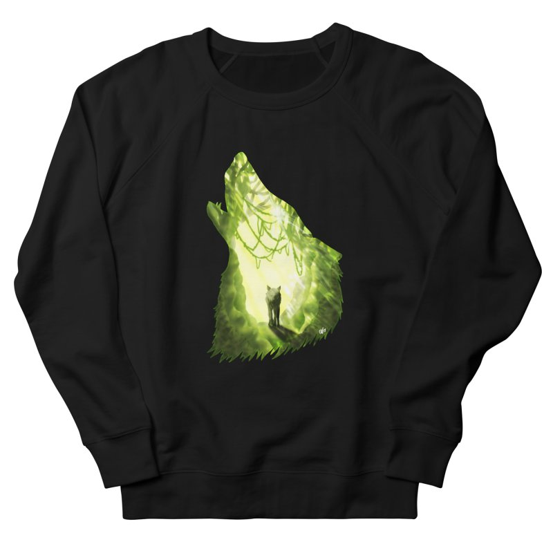 Wolf's Forest Women's French Terry Sweatshirt by DVerissimo's