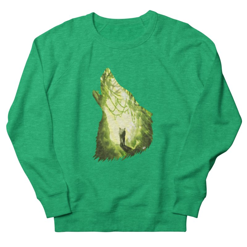 Wolf's Forest Men's Sweatshirt by DVerissimo's