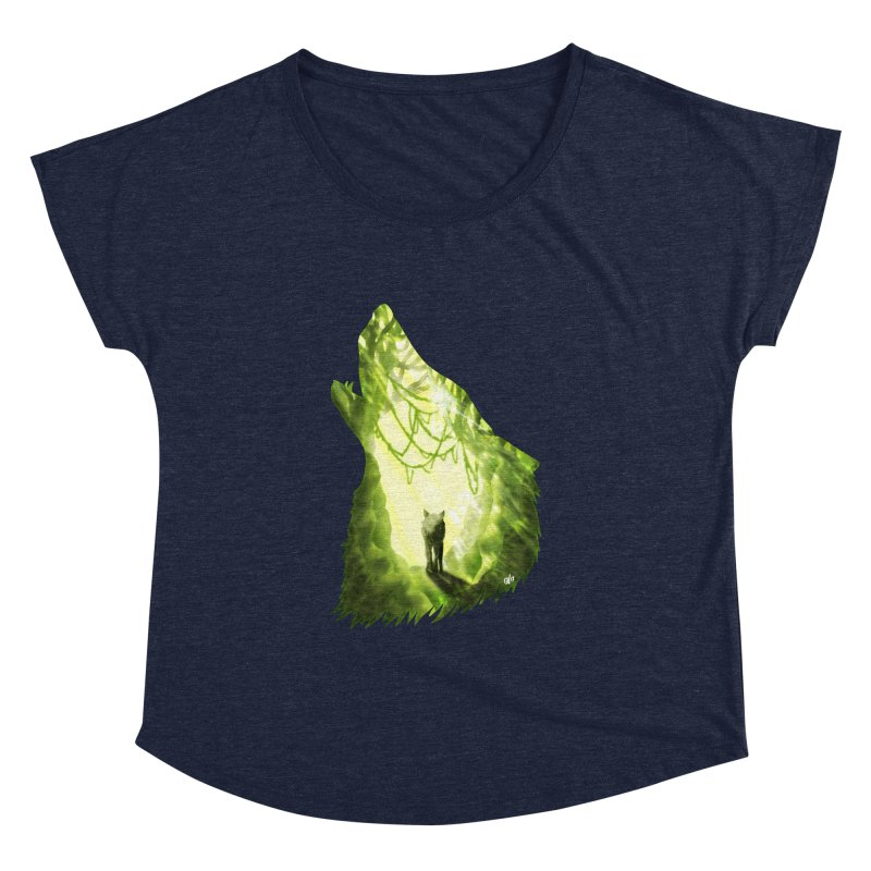 Wolf's Forest Women's Dolman by DVerissimo's