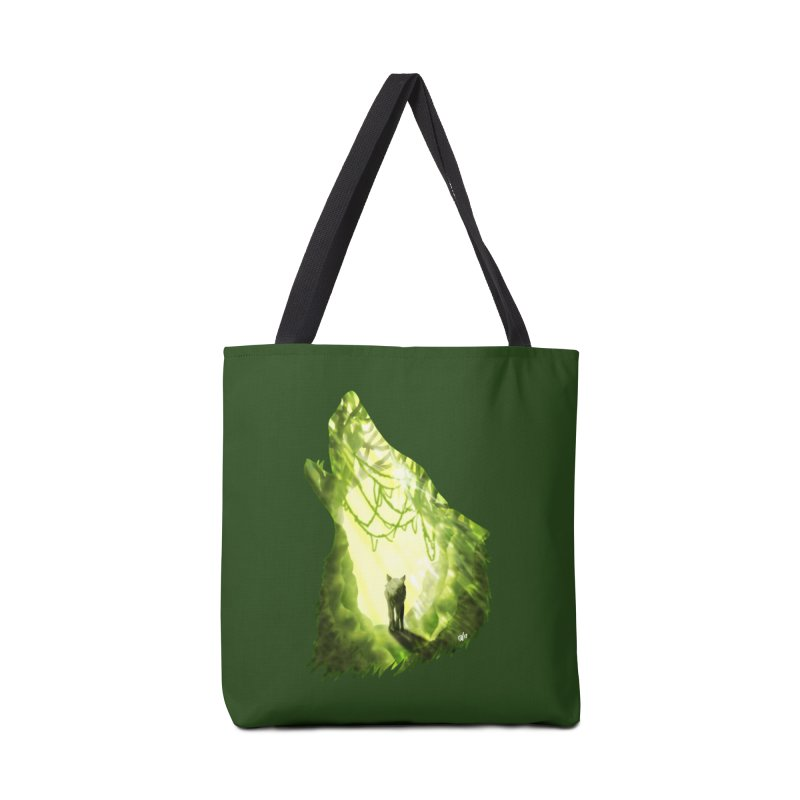Wolf's Forest Accessories Bag by DVerissimo's