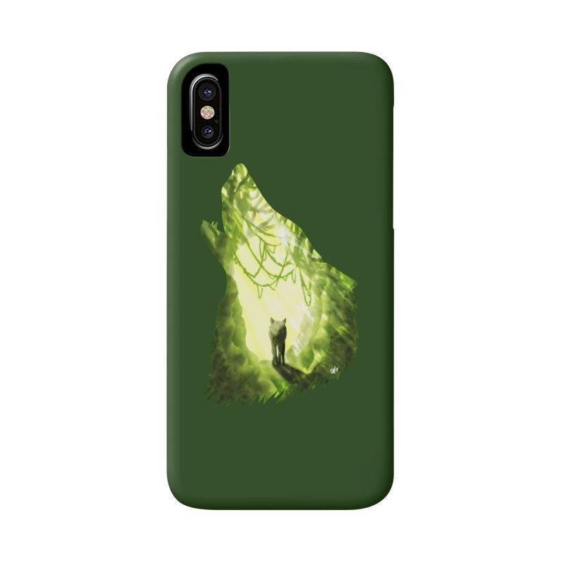 Wolf's Forest Accessories Phone Case by DVerissimo's