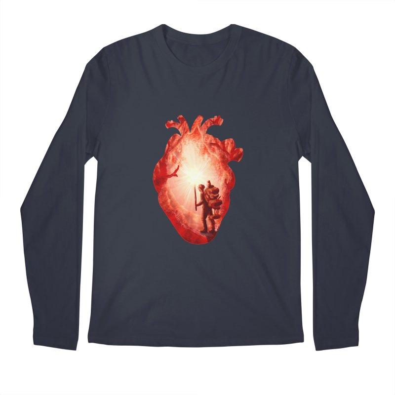 Guiding Light Men's Regular Longsleeve T-Shirt by DVerissimo's