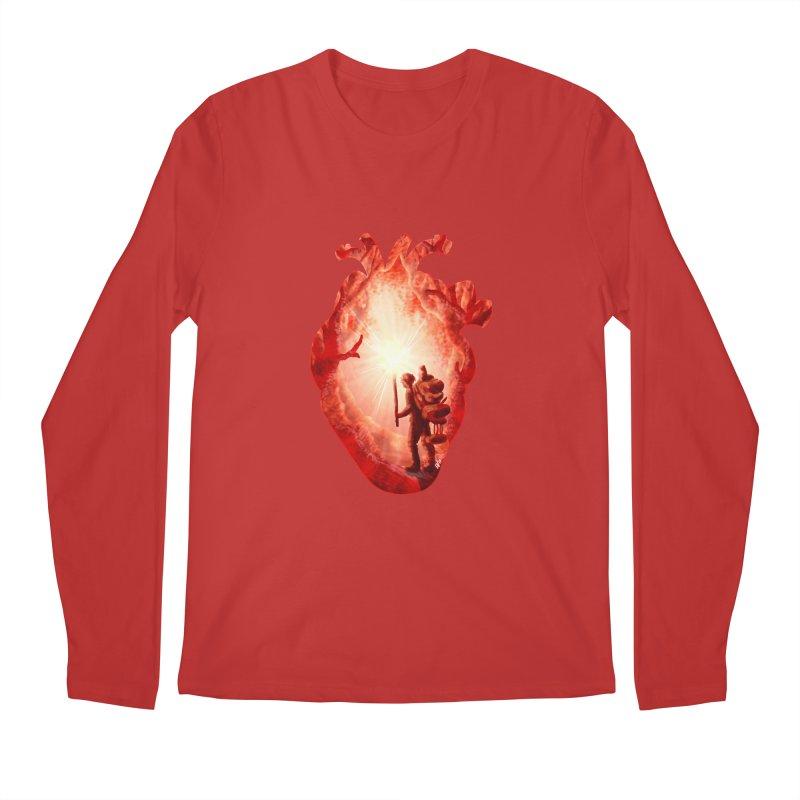 Guiding Light Men's Longsleeve T-Shirt by DVerissimo's