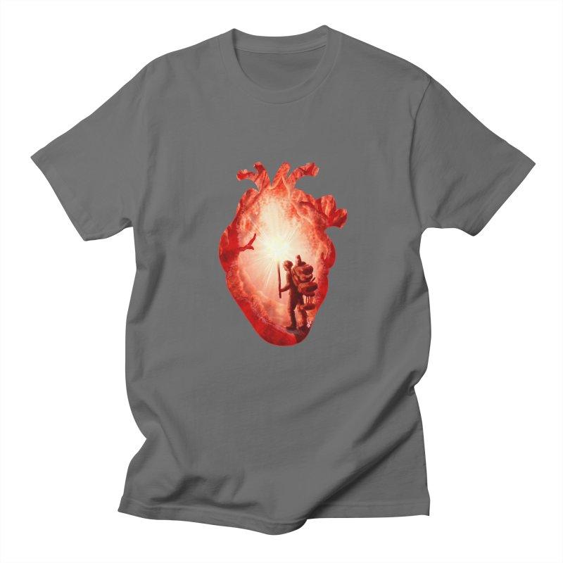 Guiding Light Men's Regular T-Shirt by DVerissimo's