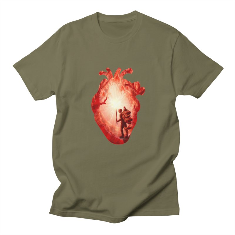 Guiding Light Men's T-Shirt by DVerissimo's