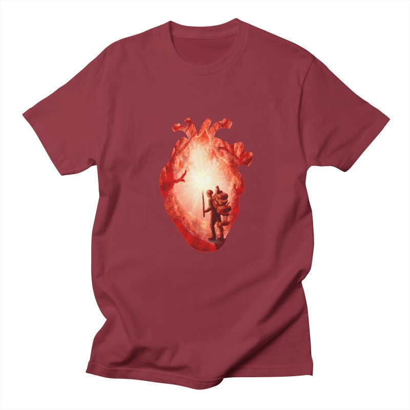 Guiding Light Women's Unisex T-Shirt by DVerissimo's