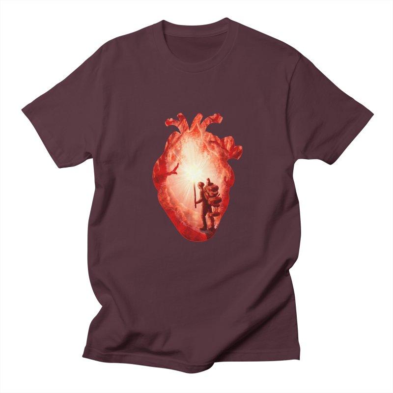 Guiding Light Women's Regular Unisex T-Shirt by DVerissimo's