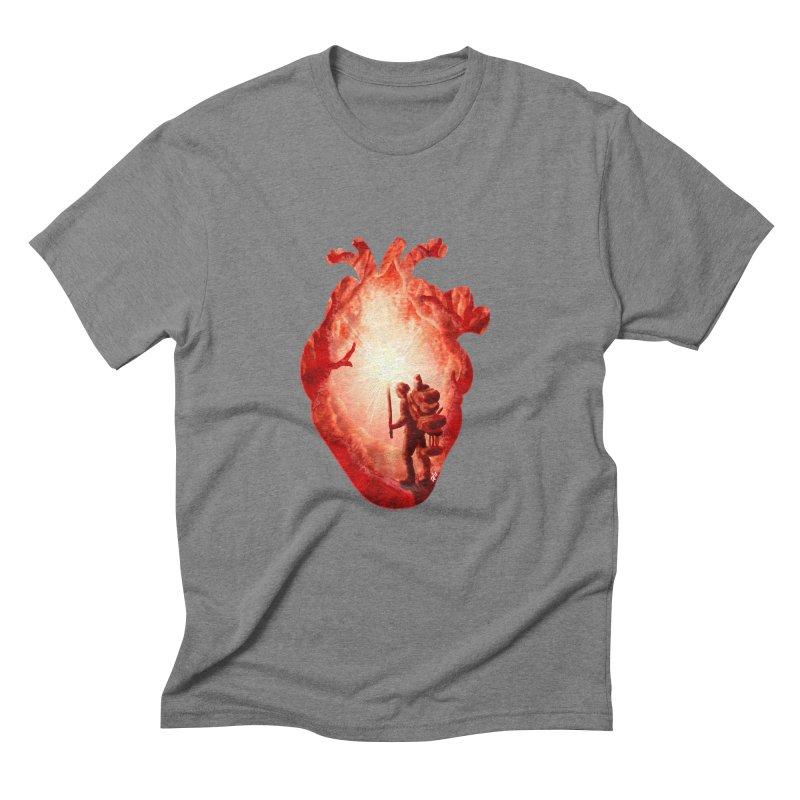 Guiding Light Men's Triblend T-Shirt by DVerissimo's