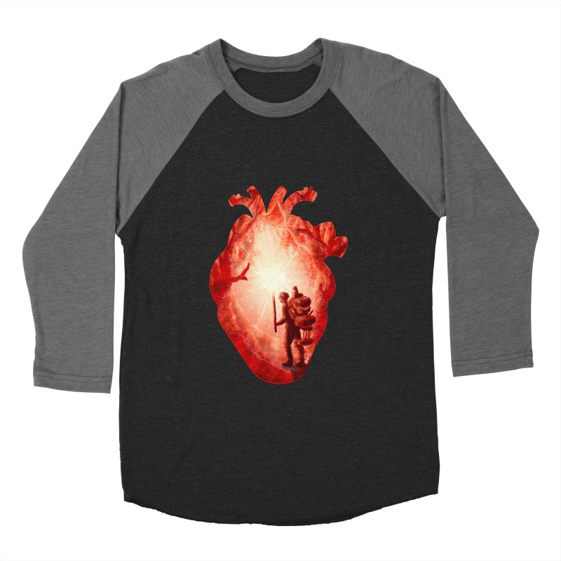 Guiding Light Women's Baseball Triblend Longsleeve T-Shirt by DVerissimo's