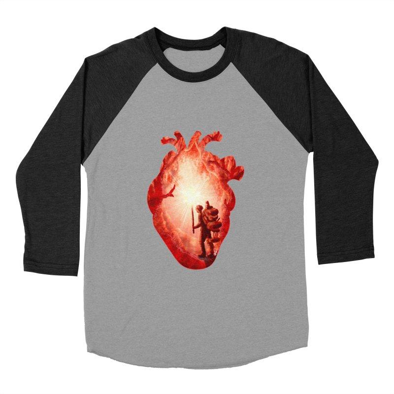 Guiding Light Men's Baseball Triblend Longsleeve T-Shirt by DVerissimo's