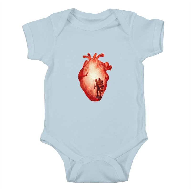 Guiding Light Kids Baby Bodysuit by DVerissimo's