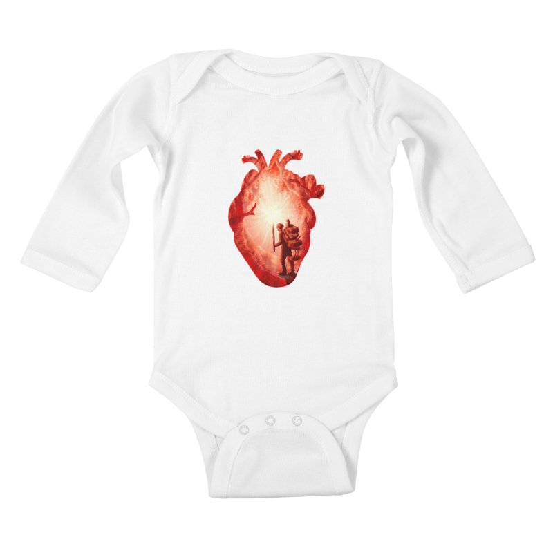 Guiding Light Kids Baby Longsleeve Bodysuit by DVerissimo's
