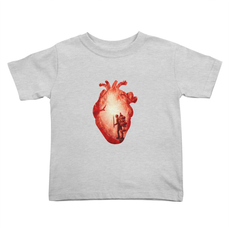 Guiding Light Kids Toddler T-Shirt by DVerissimo's