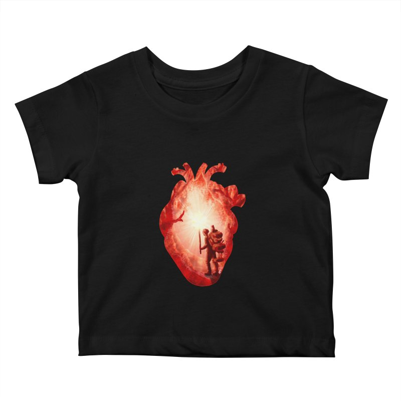 Guiding Light Kids Baby T-Shirt by DVerissimo's