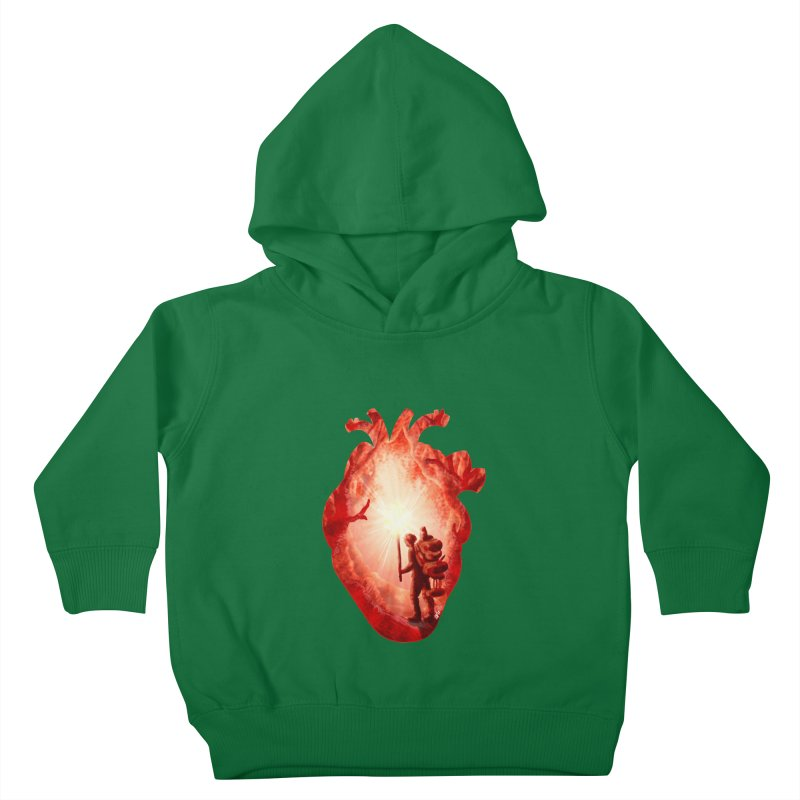 Guiding Light Kids Toddler Pullover Hoody by DVerissimo's