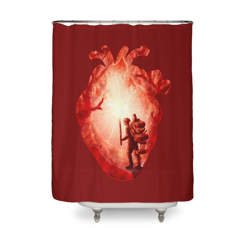 Guiding Light Home Shower Curtain by DVerissimo's