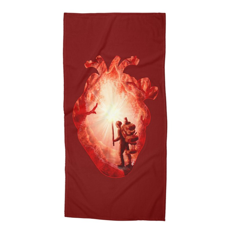 Guiding Light Accessories Beach Towel by DVerissimo's