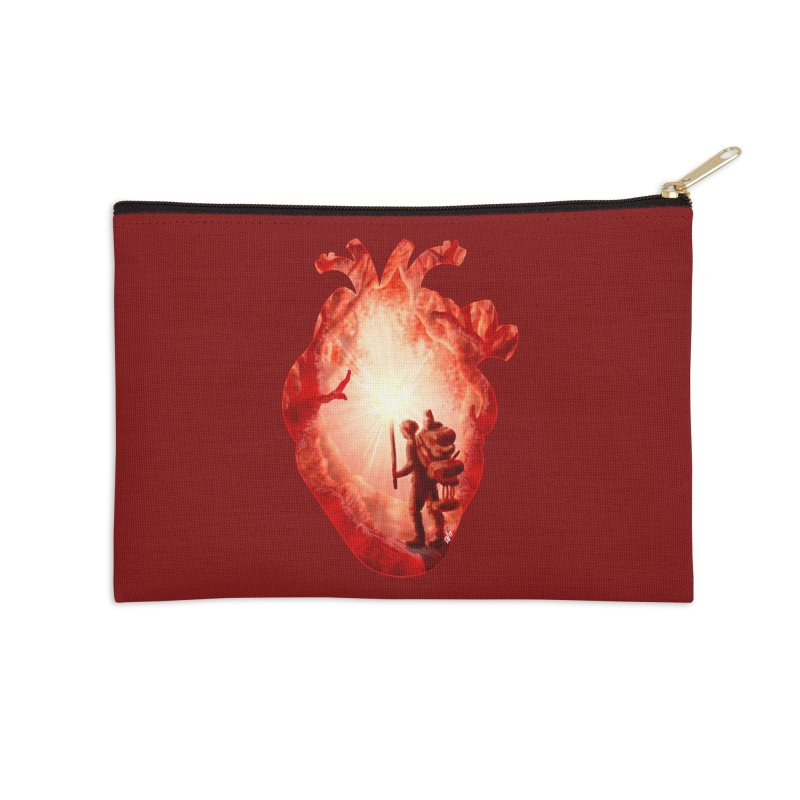 Guiding Light Accessories Zip Pouch by DVerissimo's
