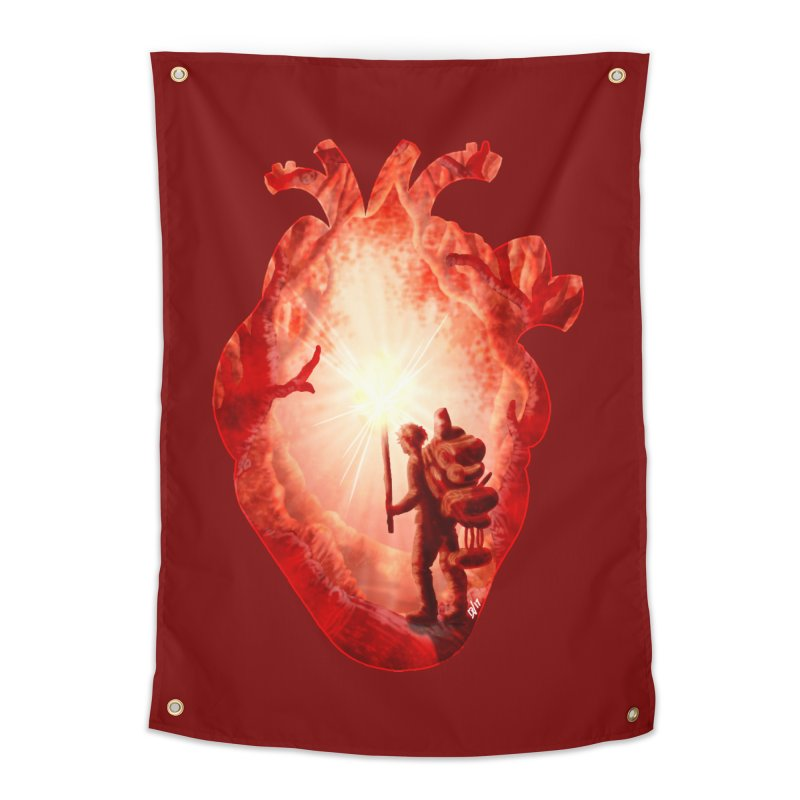 Guiding Light Home Tapestry by DVerissimo's