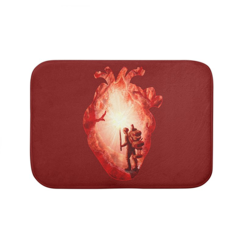 Guiding Light Home Bath Mat by DVerissimo's