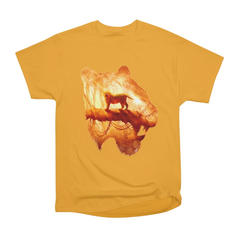 Tiger's Jungle Men's Heavyweight T-Shirt by DVerissimo's