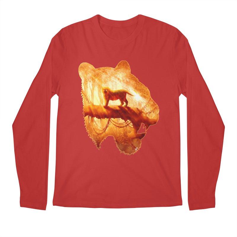 Tiger's Jungle Men's Regular Longsleeve T-Shirt by DVerissimo's