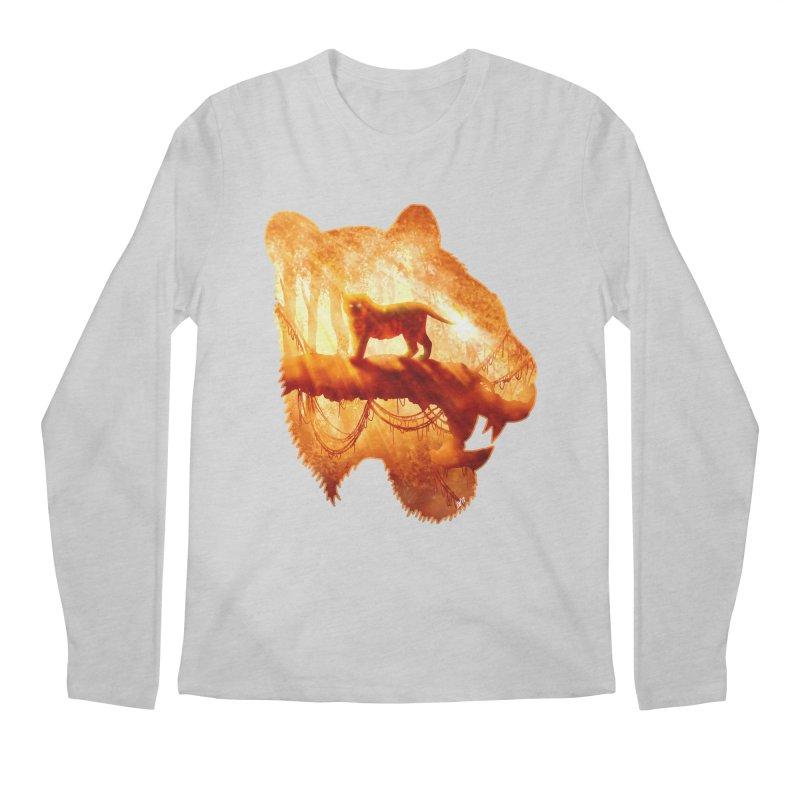 Tiger's Jungle Men's Longsleeve T-Shirt by DVerissimo's