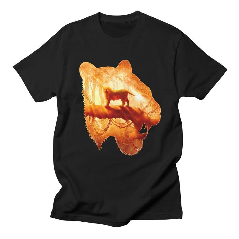 Tiger's Jungle Women's Regular Unisex T-Shirt by DVerissimo's