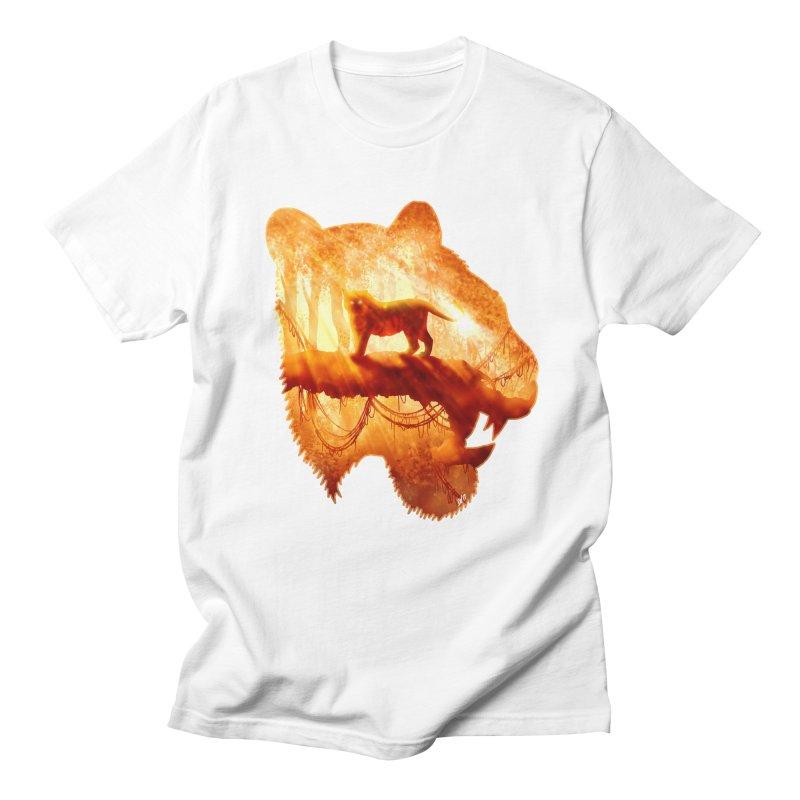 Tiger's Jungle Men's Regular T-Shirt by DVerissimo's