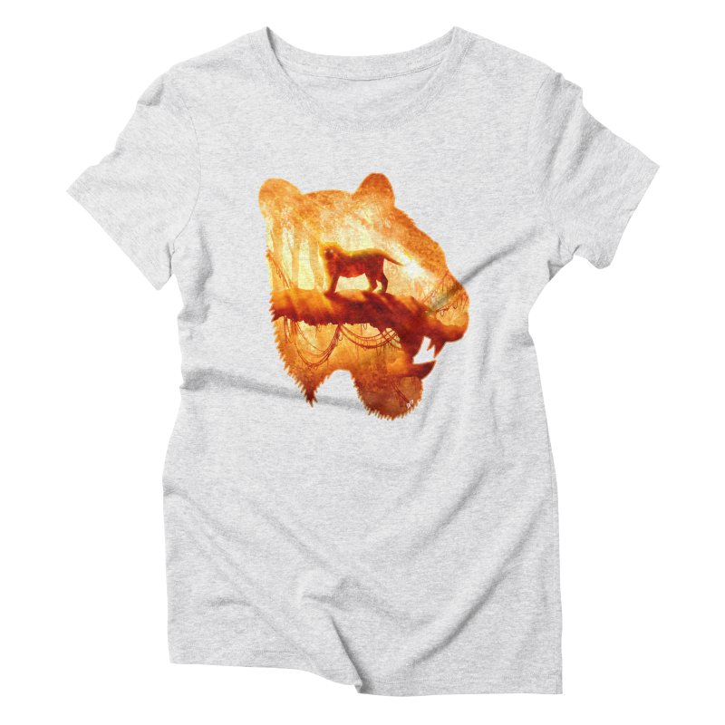 Tiger's Jungle Women's Triblend T-Shirt by DVerissimo's