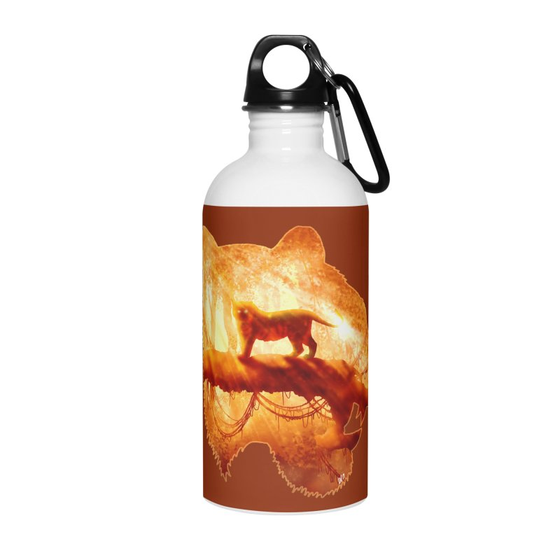 Tiger's Jungle Accessories Water Bottle by DVerissimo's