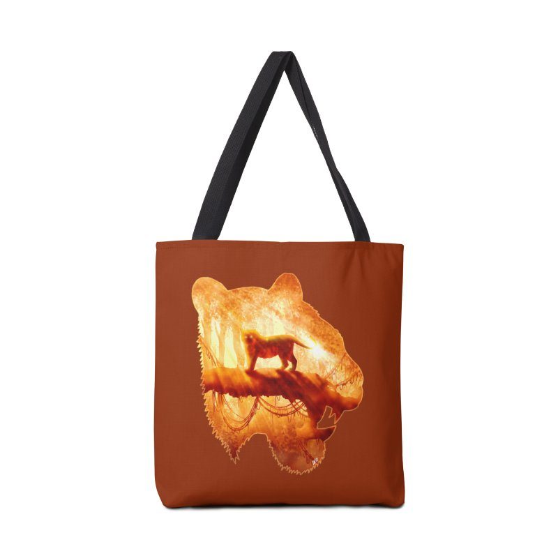 Tiger's Jungle Accessories Bag by DVerissimo's