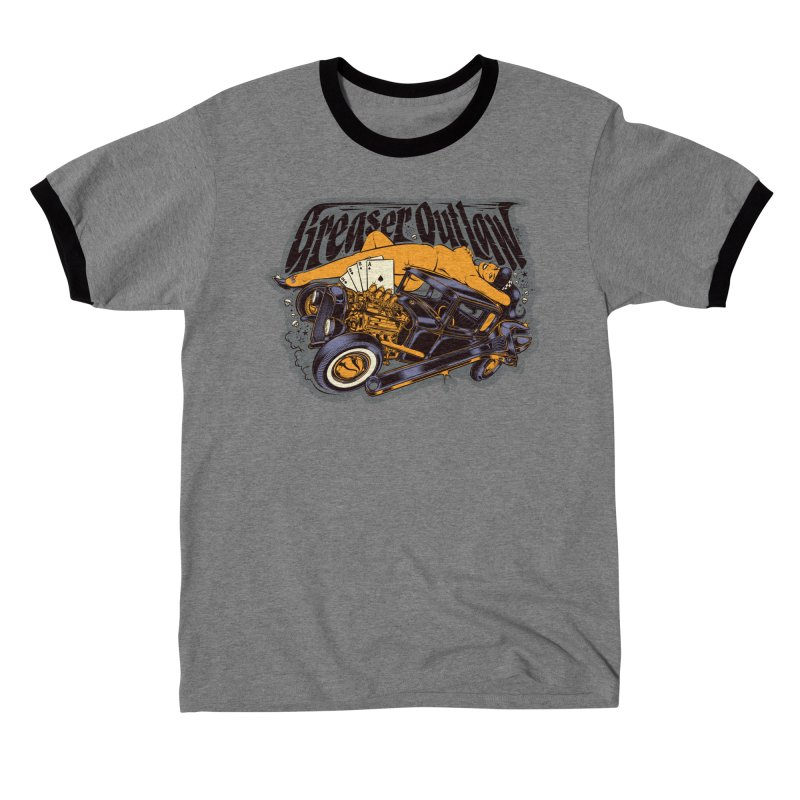 GREASER OUTLAW Men's T-Shirt by Copyright  David Vicente © 2020