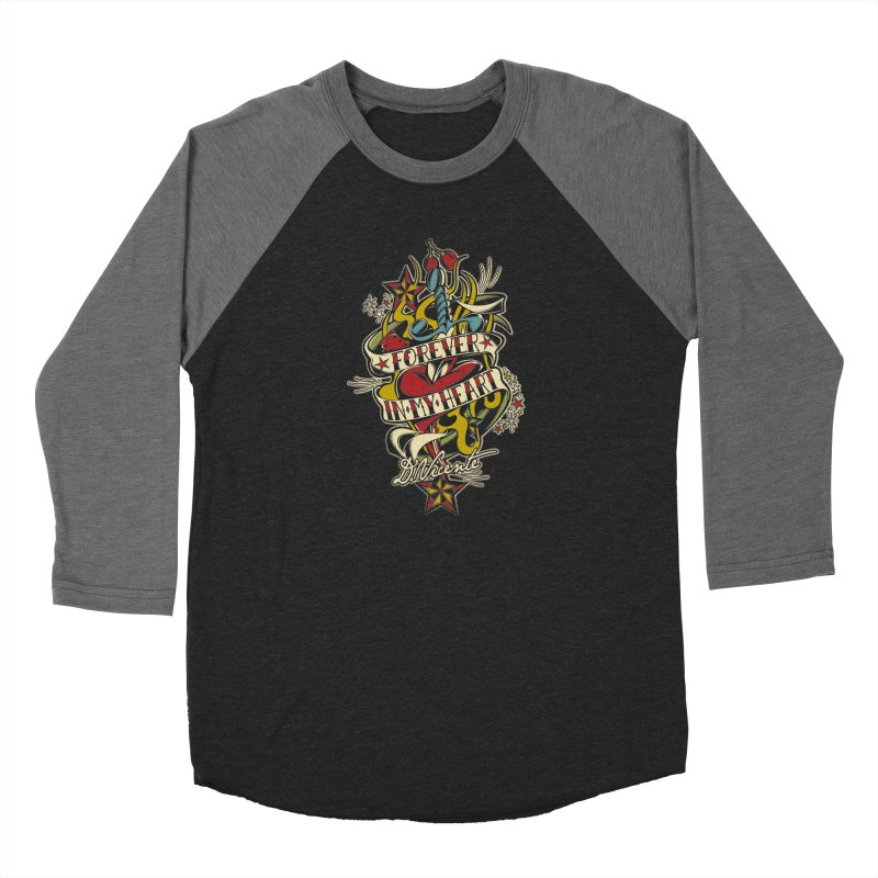 FOREVER IN MY HEART Men's Baseball Triblend Longsleeve T-Shirt by Copyright  David Vicente © 2019