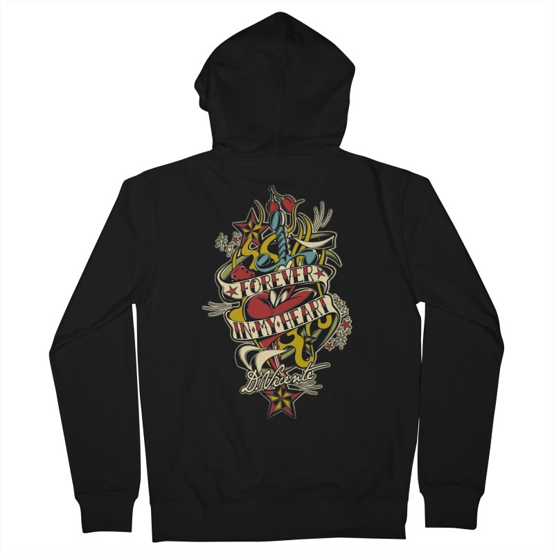 FOREVER IN MY HEART Women's Zip-Up Hoody by Copyright  David Vicente © 2016  -  All rights res