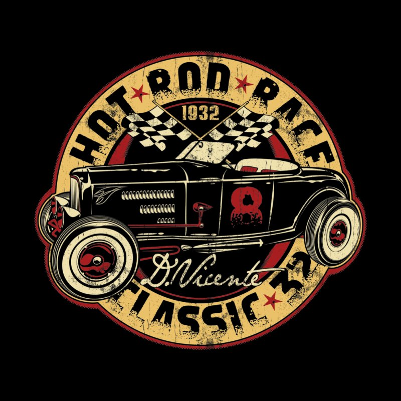 HOT ROD RACE CLASSIC 32 Men's T-Shirt by Copyright  David Vicente © 2016  -  All rights res