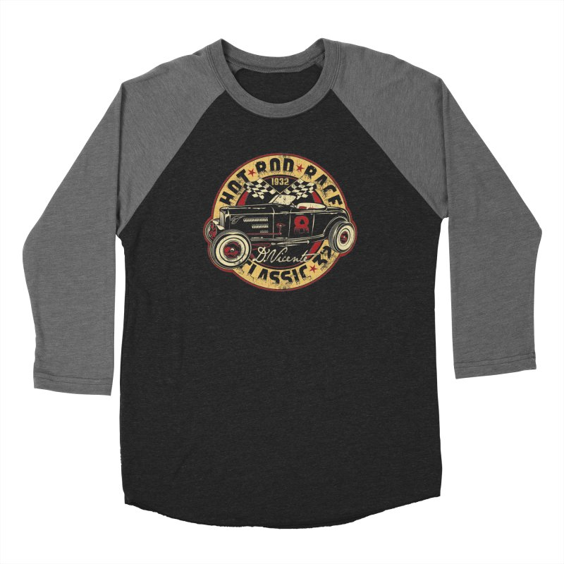 HOT ROD RACE CLASSIC 32 Men's Longsleeve T-Shirt by Copyright  David Vicente © 2020